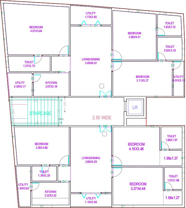 Project Image of 0 - 1445.38 Sq.ft 3 BHK Apartment for buy in Moiz Housing Project I