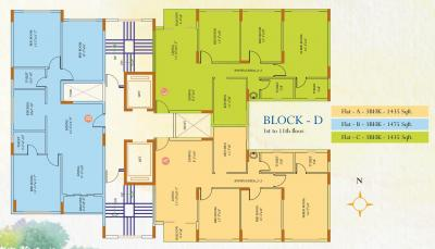 Gallery Cover Image of 1500 Sq.ft 3 BHK Apartment for rent in Ideal Ideal Regency, Thakurpukur for 21300
