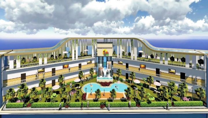 Project Image of 655.0 - 826.0 Sq.ft 1 BHK Apartment for buy in AIBPL Saaga Castle