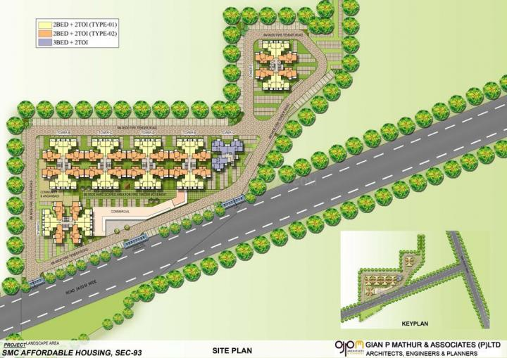 Project Image of 334.0 - 646.0 Sq.ft 1 BHK Apartment for buy in Signature Orchard Avenue