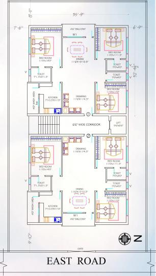 Project Image of 0 - 1450.0 Sq.ft 3 BHK Apartment for buy in Avantika Bharani