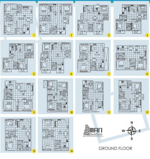 Project Image of 1040.0 - 1492.0 Sq.ft 2 BHK Apartment for buy in Man Alpine Square