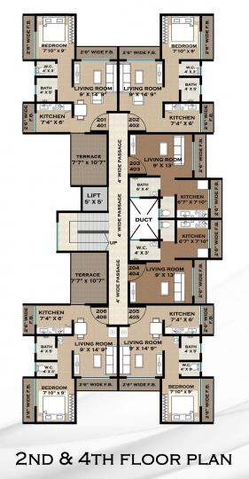 Project Image of 174.59 - 254.14 Sq.ft 1 RK Apartment for buy in Aspire Park