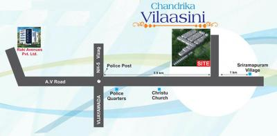 Project Image of 1192.96 - 1223.96 Sq.ft 3 BHK Apartment for buy in Raki Chandrika Vilaasini Kalyani
