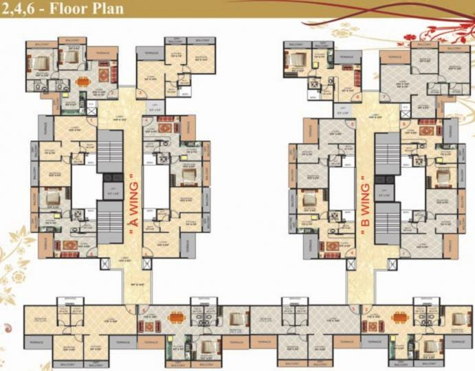 Project Image of 693 - 1053 Sq.ft 1 BHK Apartment for buy in Gami Radha Krishna Complex
