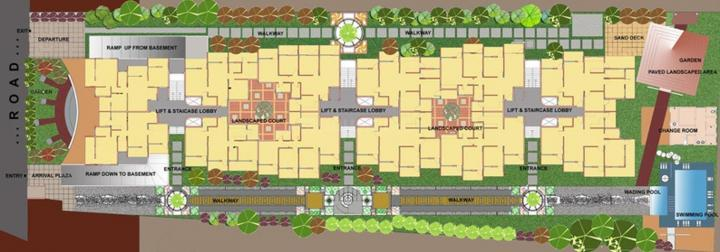 Project Image of 1110 - 1480 Sq.ft 2 BHK Apartment for buy in Vijaya Real Home Stylish Apartment