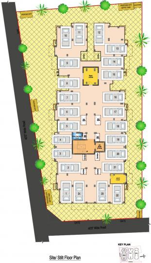 Project Image of 1161.0 - 1218.0 Sq.ft 3 BHK Apartment for buy in DABC Euphorbia Phase V