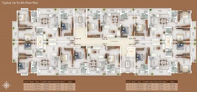 Project Image of 772 - 1085 Sq.ft 2 BHK Apartment for buy in Devshree Baleshwaram