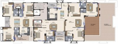 Project Image of 1440 - 1760 Sq.ft 3 BHK Apartment for buy in Radiance Elite