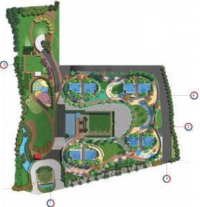 Gallery Cover Image of 1733 Sq.ft 3 BHK Apartment for buy in Siddha Sky Phase 3, Sion for 22000000
