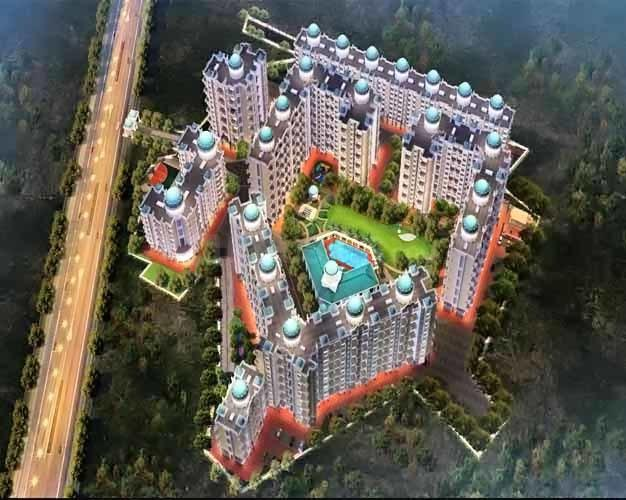 Project Image of 380.5 - 541.1 Sq.ft 1 BHK Apartment for buy in Tharwani Meghna Montana Phase 2