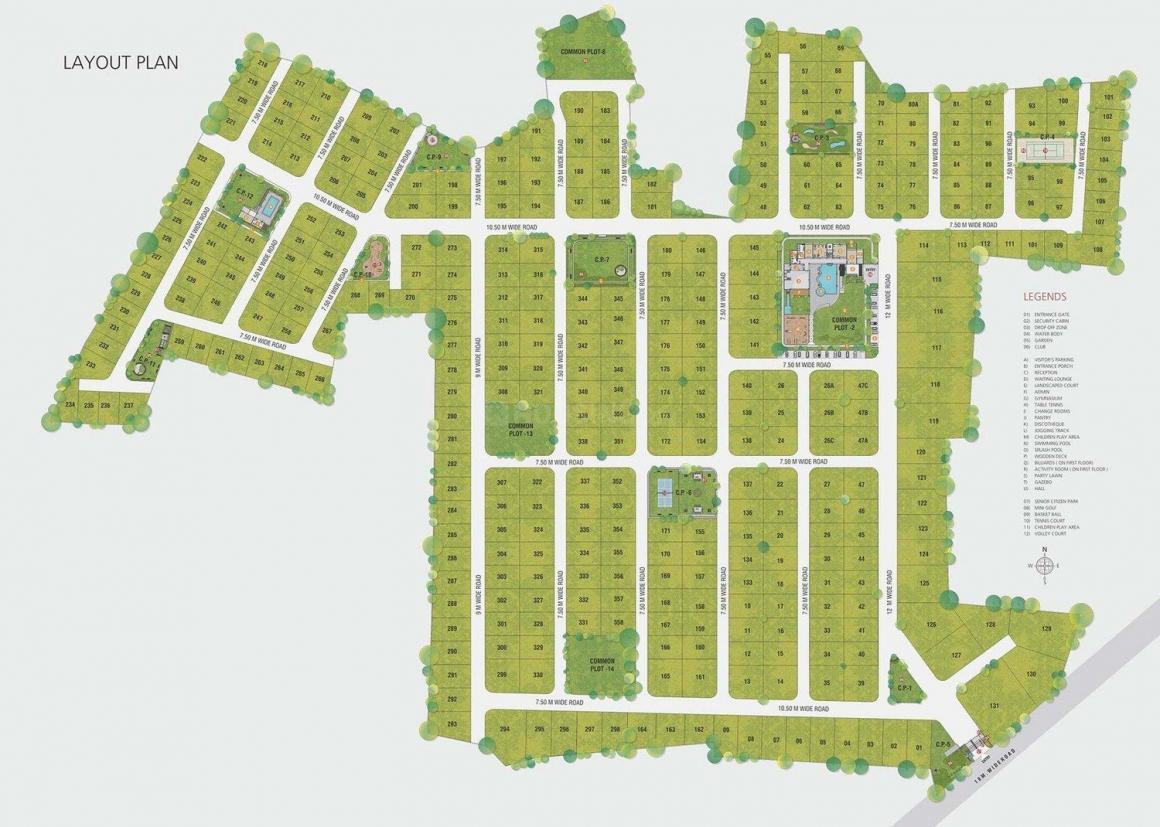 Project Image of 0 - 2025.0 Sq.ft 3 BHK Villa for buy in JP Iscon Greens