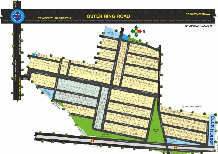 Project Image of 1404.0 - 7992.0 Sq.ft Residential Plot Plot for buy in Sri Surya True Pride