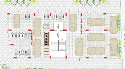 Project Image of 884.26 - 886.52 Sq.ft 3 BHK Apartment for buy in R K Rashmi Apartments