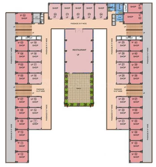 Project Image of 250 - 370 Sq.ft Shop Shop for buy in Signature Signum 95A