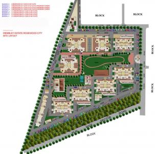 Gallery Cover Image of 1211 Sq.ft 3 BHK Apartment for buy in Eros Wembley Premium Tower, Sector 49 for 6500000