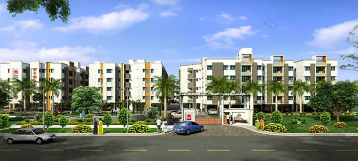 Project Image of 446.0 - 1580.0 Sq.ft 1 BHK Apartment for buy in KG Good Fortune