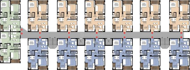 Project Image of 0 - 842.06 Sq.ft 2 BHK Apartment for buy in Incor VB City