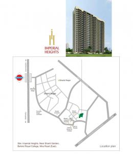 Project Image of 385.0 - 543.0 Sq.ft 1 BHK Apartment for buy in Shivam Imperial Heights Phase I A And B Wing