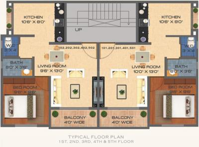 Project Image of 498 - 533 Sq.ft 1 BHK Apartment for buy in Dhanista Sai Palace