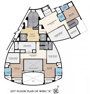 Gallery Cover Image of 3200 Sq.ft 5 BHK Independent Floor for buy in Atul Blue Mountains, Malad East for 75000000