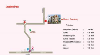 Project Image of 911.0 - 1328.0 Sq.ft 2 BHK Apartment for buy in Muskan Meena Residency