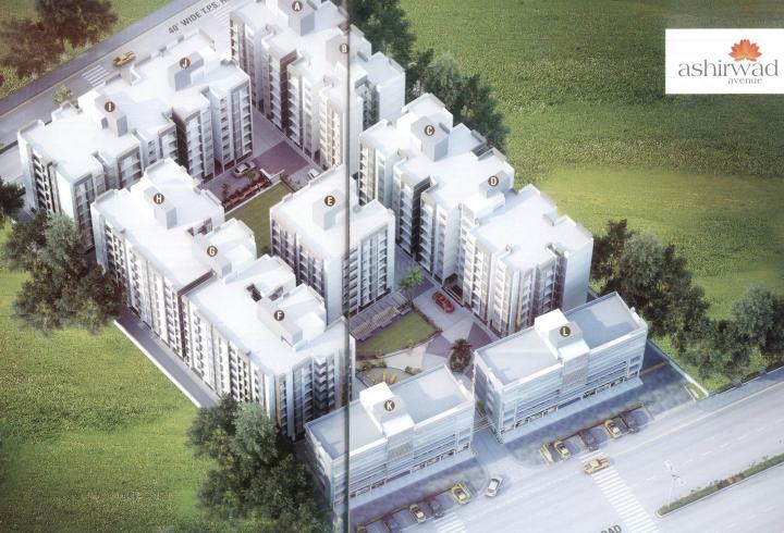 Project Image of 900.0 - 1215.0 Sq.ft 2 BHK Apartment for buy in Ashirwad Avenue