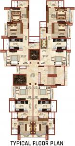 Gallery Cover Image of 670 Sq.ft 1 BHK Apartment for buy in Safal Ganga Smruti, Chembur for 9000000
