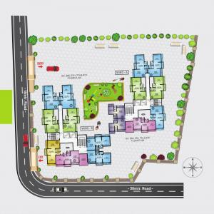 Project Image of 230.46 - 333.14 Sq.ft 1 RK Apartment for buy in AV Crystal Tower