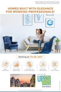 Project Image of 0 - 260.0 Sq.ft Studio Studio Apartment for buy in Provident Upstudios