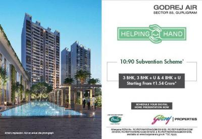 Project Image of 1161.0 - 1654.0 Sq.ft 3 BHK Apartment for buy in Godrej Air