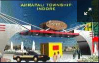 Project Image of 625 - 1450 Sq.ft 1 BHK Apartment for buy in Amrapali Group Modern City Apartment