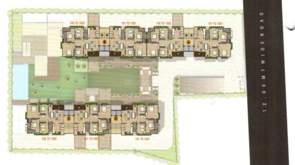 Project Image of 1574 - 1583 Sq.ft 4 BHK Apartment for buy in Samanvay Sparsh Solitaire