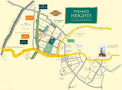 Gallery Cover Image of 408 Sq.ft 1 BHK Apartment for buy in Pyramid Heights, Sector 85 for 1450000