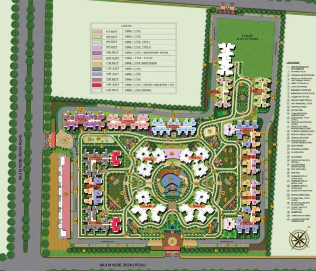 Ajnara Le Garden In Noida Extension,Greater Noida West