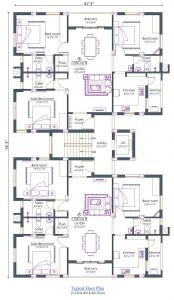 Project Image of 0 - 1550 Sq.ft 3 BHK Apartment for buy in Pushkar Royale Nalantha