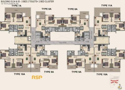 Gallery Cover Image of 900 Sq.ft 2 BHK Apartment for buy in Provident Park Square, Mallasandra for 7300000