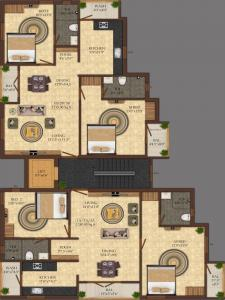 Project Image of 1215.0 - 1240.0 Sq.ft 2 BHK Apartment for buy in India Builders Winchester