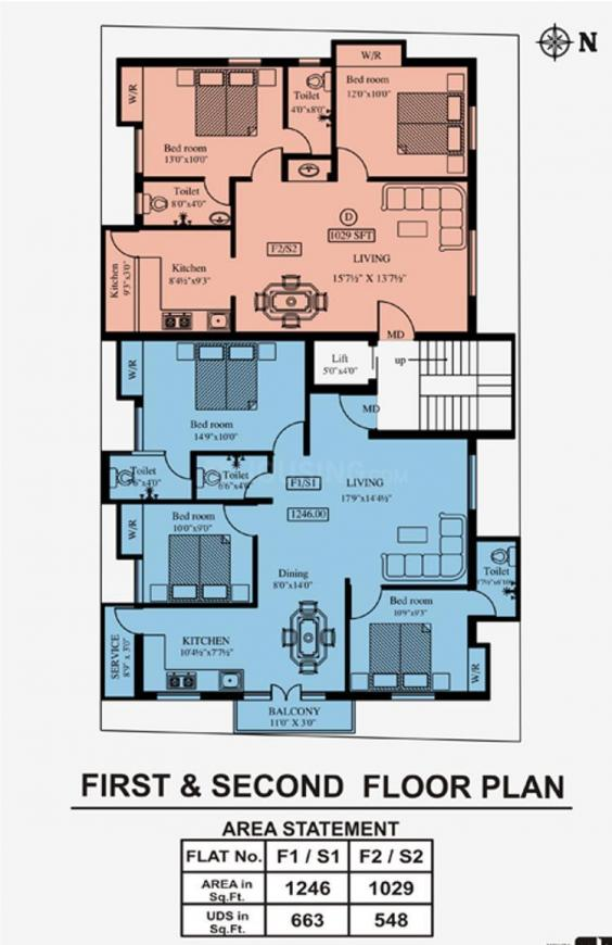 Project Image of 1029.0 - 1246.0 Sq.ft 2 BHK Apartment for buy in Mehta Tarunam