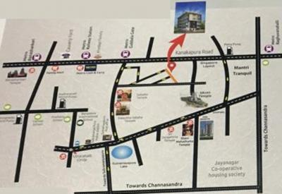 Project Image of 1350.0 - 1370.0 Sq.ft 3 BHK Apartment for buy in Eswar Saitej Enclave
