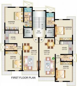 Project Image of 685.0 - 720.0 Sq.ft 2 BHK Apartment for buy in JPV Pratap Villa