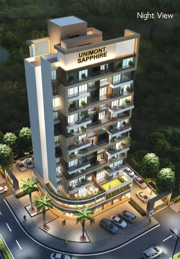 Project Image of 441.32 - 454.88 Sq.ft 2 BHK Apartment for buy in Unimont Sapphire