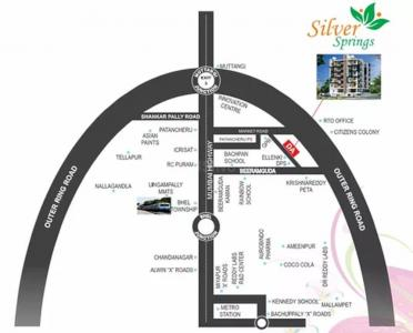 Project Image of 916.01 - 928.39 Sq.ft 2 BHK Apartment for buy in Durga Silver Springs