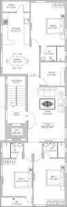 Project Image of 0 - 1830.0 Sq.ft 3 BHK Apartment for buy in India Builders Sri Sankalp