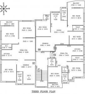 Project Image of 866.0 - 1491.0 Sq.ft 2 BHK Apartment for buy in Ganapati Apartment