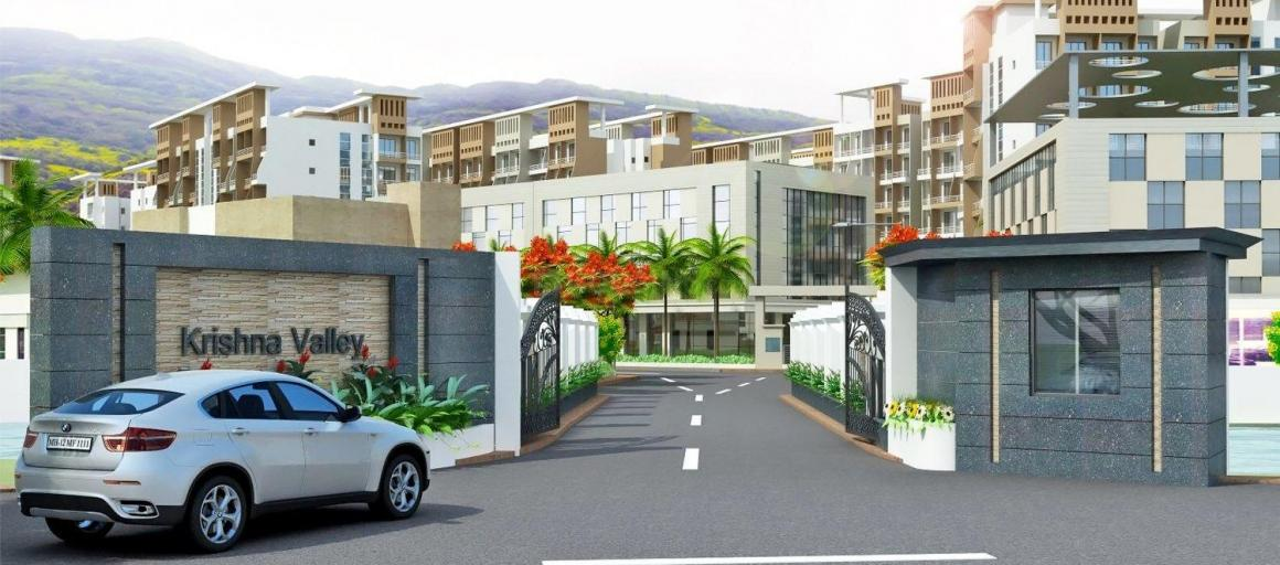 Project Image of 168.0 - 384.0 Sq.ft 1 BHK Apartment for buy in Prishti Krishna Valley