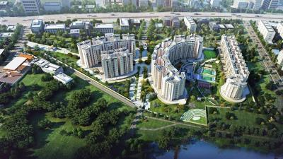 Gallery Cover Image of 1170 Sq.ft 2 BHK Apartment for rent in Brigade Lakefront, Hoodi for 33000