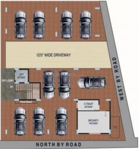 एसएलवी गोल्डन नेस्ट में खरीदने के लिए 1510.0 - 1590.0 Sq.ft 3 BHK अपार्टमेंट प्रोजेक्ट  की तस्वीर
