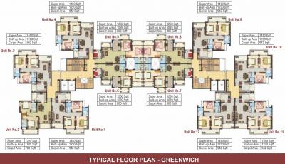 Gallery Cover Image of 828 Sq.ft 1 BHK Apartment for buy in Omaxe Grand, Arjunganj for 4245500