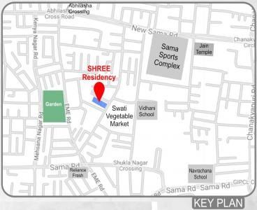 Project Image of 0 - 743.25 Sq.ft 3 BHK Apartment for buy in J P Vadodara Shree Residency